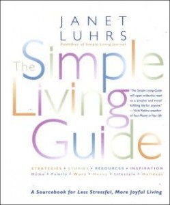 book about simple living