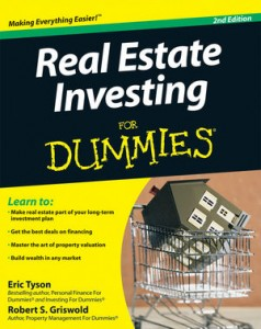 for dummies template book cover - top 5 real estate books beginners